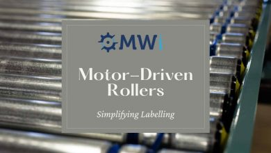 Photo of Precision Motor-Driven Rollers for Ease of Labeling and Simplifying Labelling