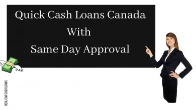 Photo of Where To Get Quick Cash Loans In Canada?