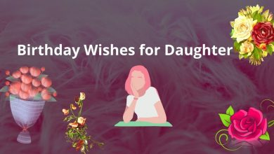 Photo of happy birthday wishes for daughter