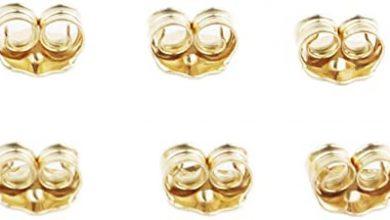 Photo of 14k Gold Locking Earring Backs : Quality Gold Locking Earring Backs?