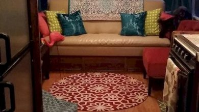 Photo of Update a chic makeover of your vintage caravan tips