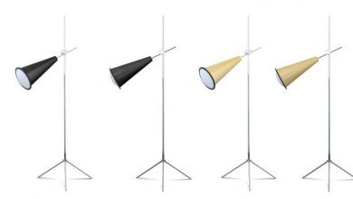 Photo of How many floor lamps are in a room?