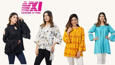 Photo of Version XI Pink Latest Tops for Women 2021